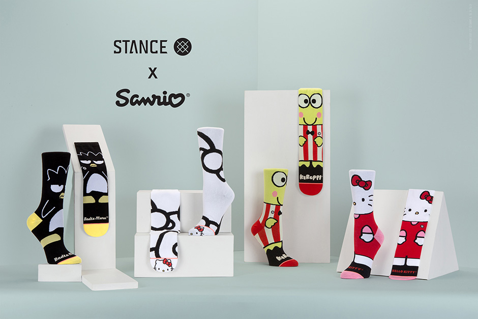 STANCE x Sanrio 'Hello Kitty and Friends' Sock Collection