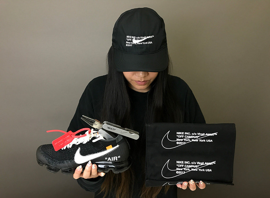Copping Virgil Abloh's OFF-WHITE X NIKE Collection Early!