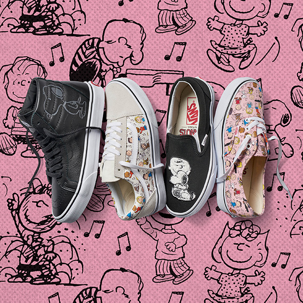 Vans x Peanuts Releases Latest Footwear & Apparel Collection