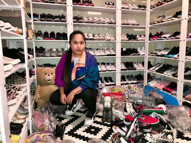 My Sneaker Closet Tour