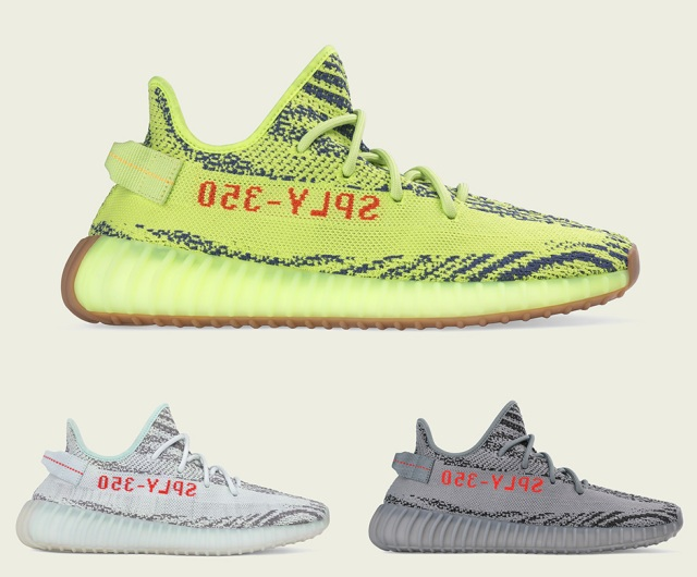 adidas YEEZY BOOST 350 V2 November and December 2017 Releases