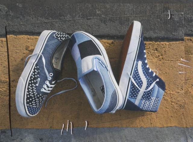 Vans Patchwork and Denim Construction Classics Pack