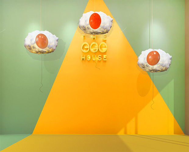 The Egg House, An Egg-Themed Pop-Up in NYC Opening April 7th