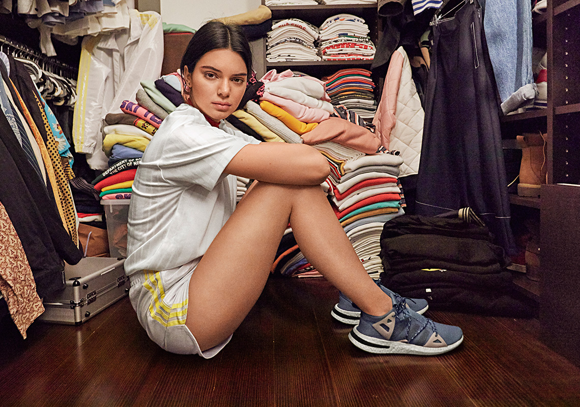 adidas Originals And Kendall Jenner Unveil The Women's-Exclusive Arkyn