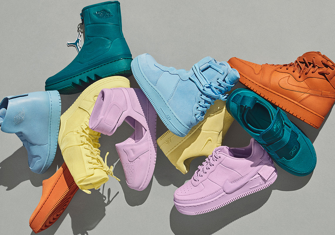 "Nike's ""The 1 Reimagined"" Collection in Pastel Spring Colorways Is Dropping April 6th"