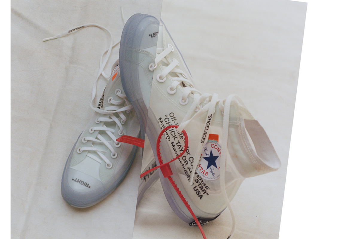 How To Get The OFF WHITE x Converse Chuck Taylor