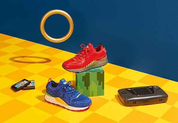 PUMA and SEGA Team Up for a Sneaker Collection!