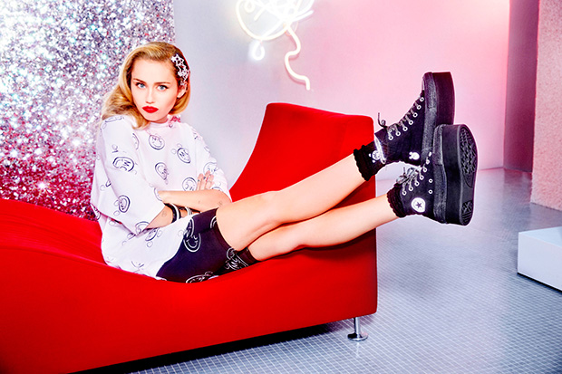 Miley Cyrus x Converse Collection Released Today