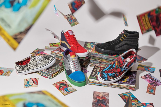 Vans x Marvel's Avengers Footwear, Apparel & Accessories Collection