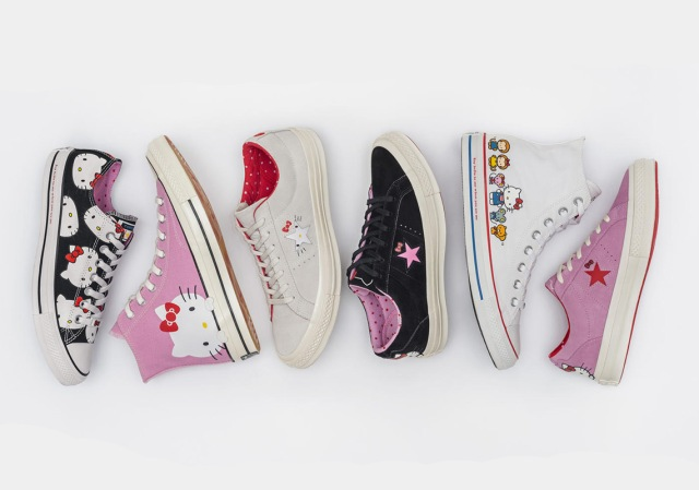 Converse x Hello Kitty Collaboration