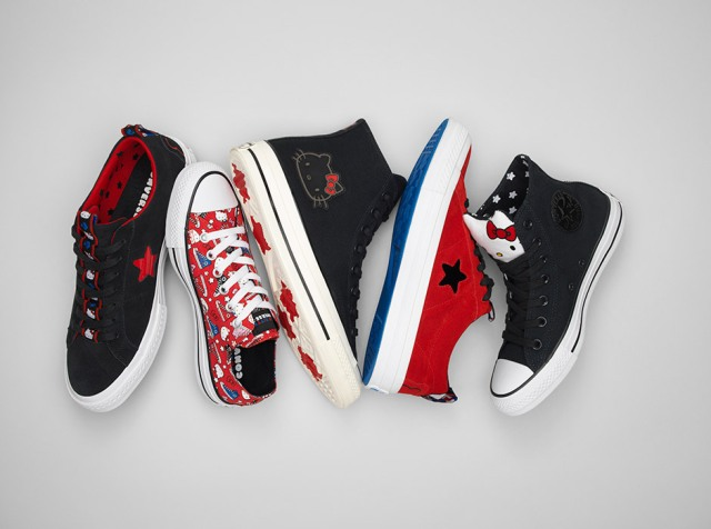 Converse x Hello Kitty Holiday 2018 Collection