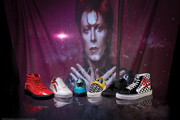 Vans x David Bowie Limited Footwear and Apparel Collection