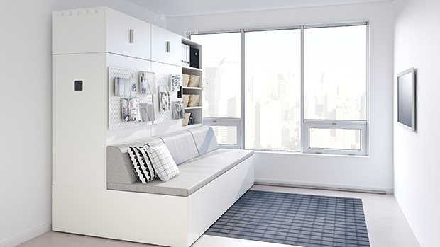 IKEA and Ori Develop ROGNAN Robotic Furniture for Small Space Living