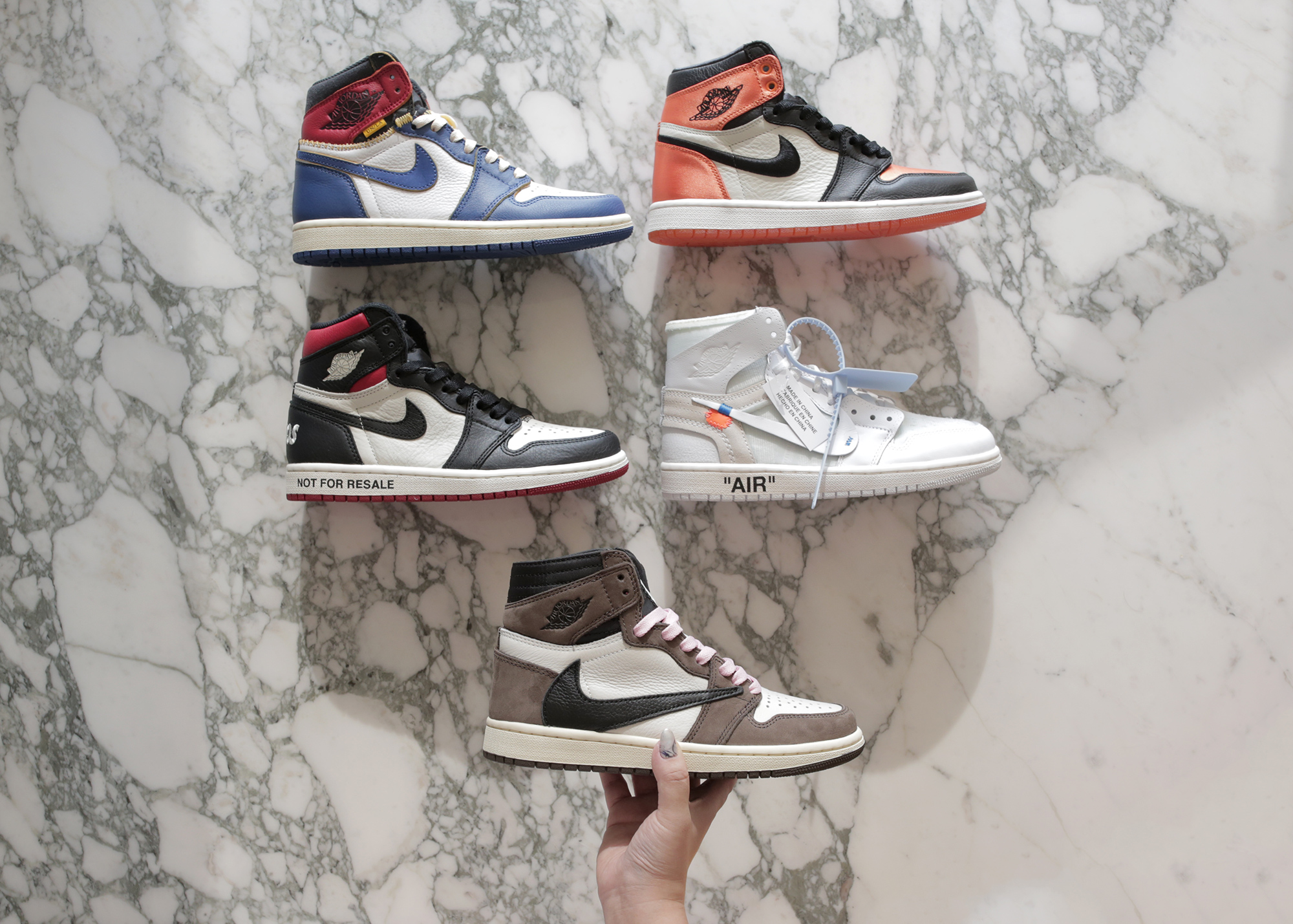 Top 5 Hyped Air Jordan 1s For Girls
