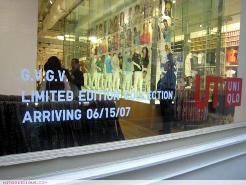 G.V.G.V. for UNIQLO Arrived – 06.15.2007