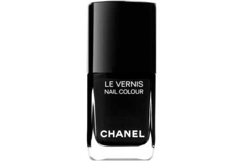 Chanel S Limited Edition Black Satin Nail Polish