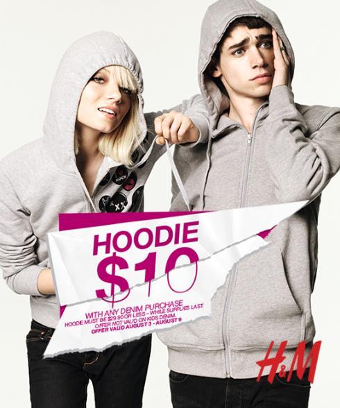 H&M $10 Hoodie