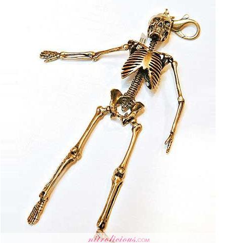 Number (N)ine Skeleton & Skulls Accessories