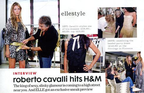Sneak Peek #2: Roberto Cavalli at H&M