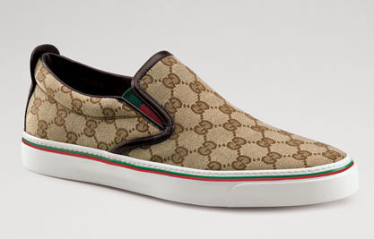 25351d3464dc3 Gucci Monogram Slip-on Sneaker - nitrolicious.com