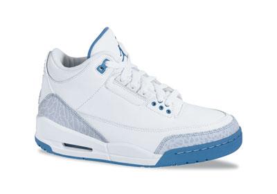 best sneakers 2b70e 15c78 jordan 3 white and baby blue