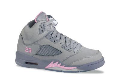1cc3620e27c650 Women s Air Jordan 5 Retro - Silver Shy Pink-Stealth - nitrolicious.com